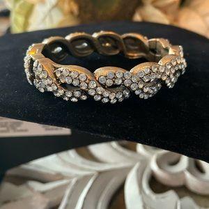 J. Crew Gold Tone Bangle Bracelet